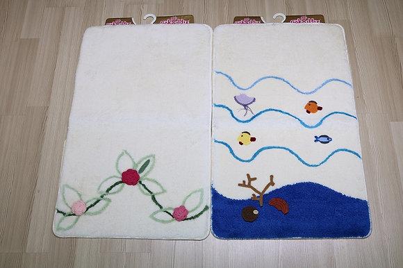 Nurteks Gokyildiz Aplikel Hand Knitted  3Pcs Set