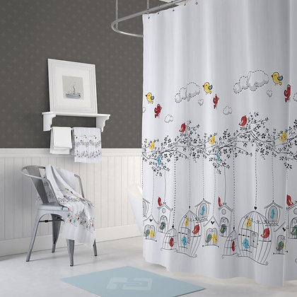 Jackline/Evdy Bathroom Shower Curtain