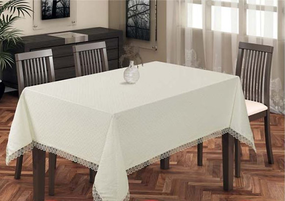 Nurteks Guipureddertsiz Table Cloth