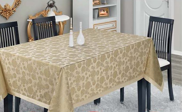 Nurteks Glitter Dusted Dertsiz Table Cloth