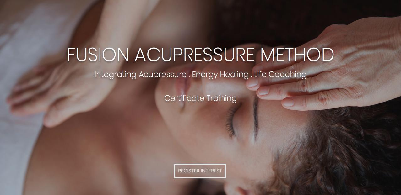 Fusion Acupressure Certificate Training