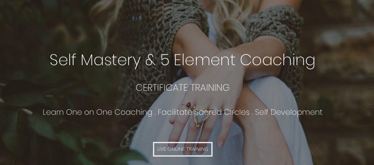 Five Element Coaching Certificate