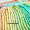 Thumbnail: Shell stitch crochet mermaid blanket with opening back PDF Instant Download