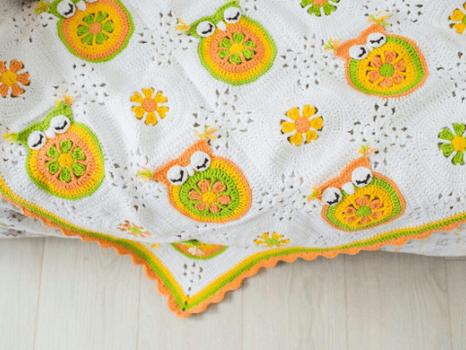 Crochet Sweet Owl Pattern