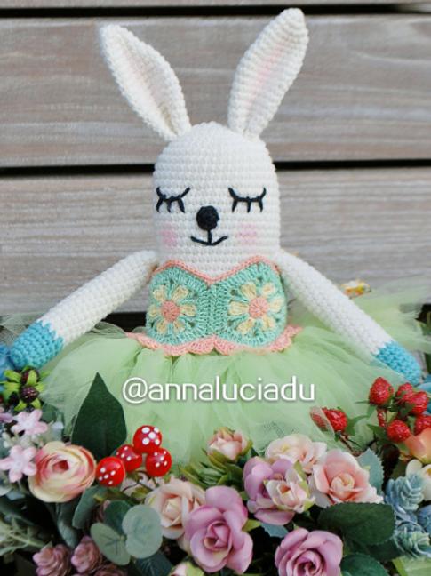 crochet bunny doll pattern