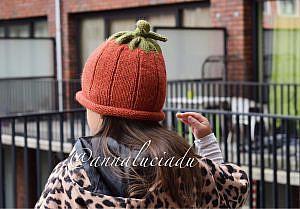 Knitting Pumpkin Hat Free pattern