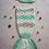 Thumbnail: New born baby crochet mermaid blanket