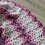 Thumbnail: Ripple stitch, Crochet mermaid blanket with openning back