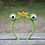 Thumbnail: Crochet frog headband pattern