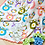 Thumbnail: Owl Obsession ,colorful owl blanket pattern