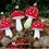 Thumbnail: Crochet woodland toadstool pattern