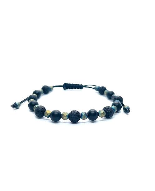 Electric Hematite Bracelet