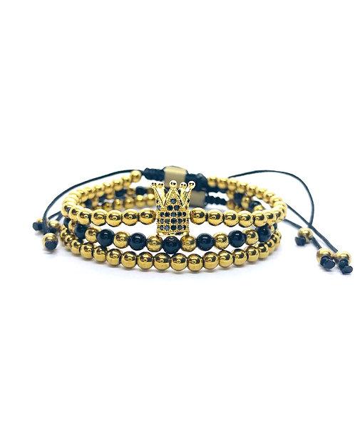 Premium Gold Crown Set