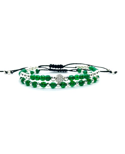 Green Royal Set 925