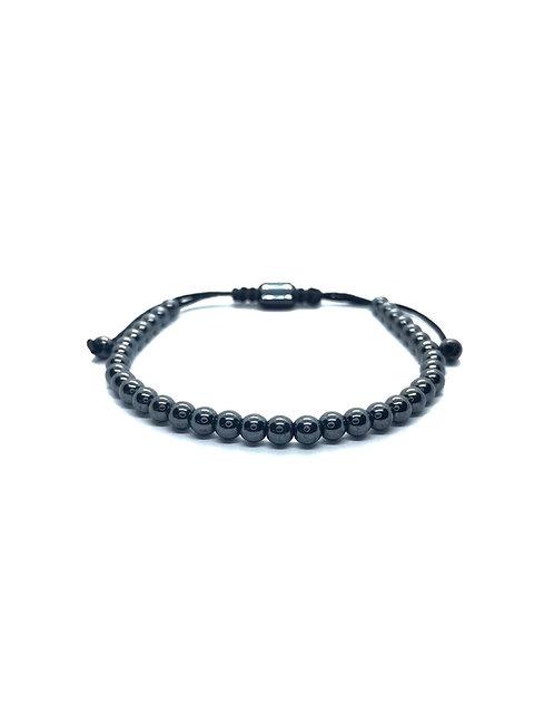 Dark-Grey Stone Bracelet