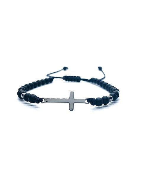 Bratara Luxury Stone Cross 925