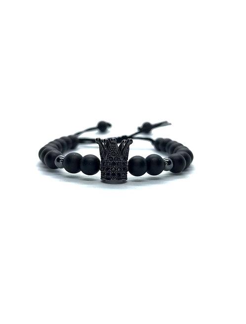 Onix Crown Bracelet