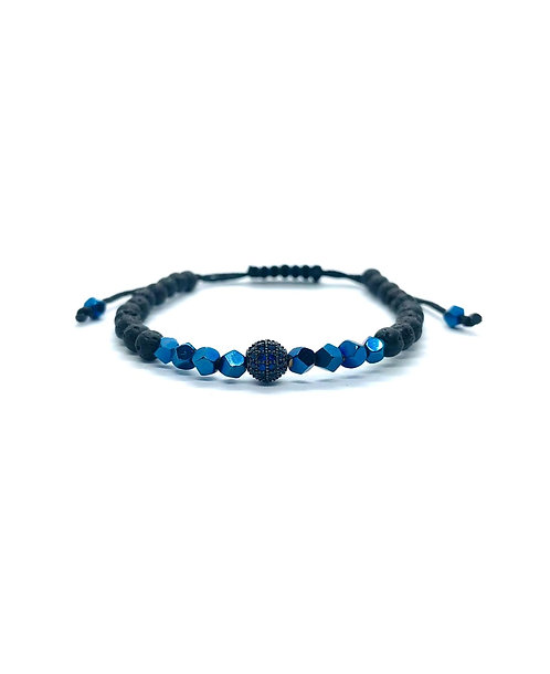 Bratara Blue Zirconia