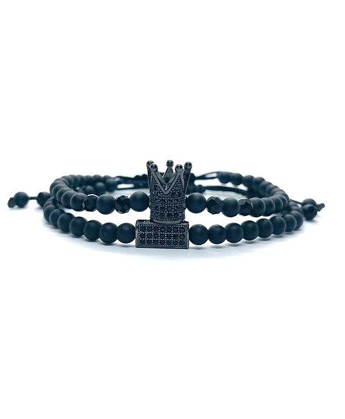 Set Black Onix Crown