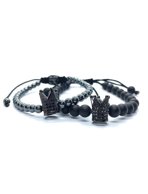 Set Premium Black Crown EL&EA