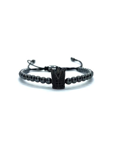 Premium Black Crown Bracelet