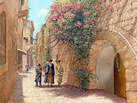 סמטה בעיר העתיקה