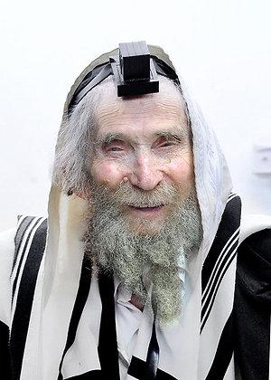 הרב שטיינמן עם תפילין
