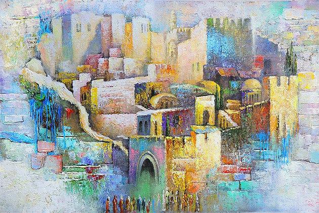 העיר העתיקה - אפסטרקט