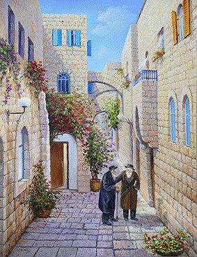 שני יהודים בימין משה
