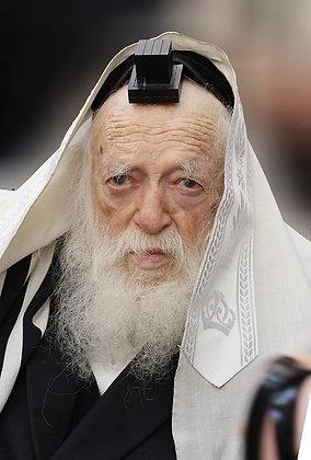 הרב קניבסקי עם תפילין