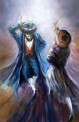 חסידים רוקדים