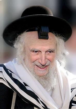הרב שמואל אויירבך עם תפילין