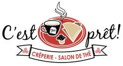Logo Restaurant Crêperie c'est Prêt