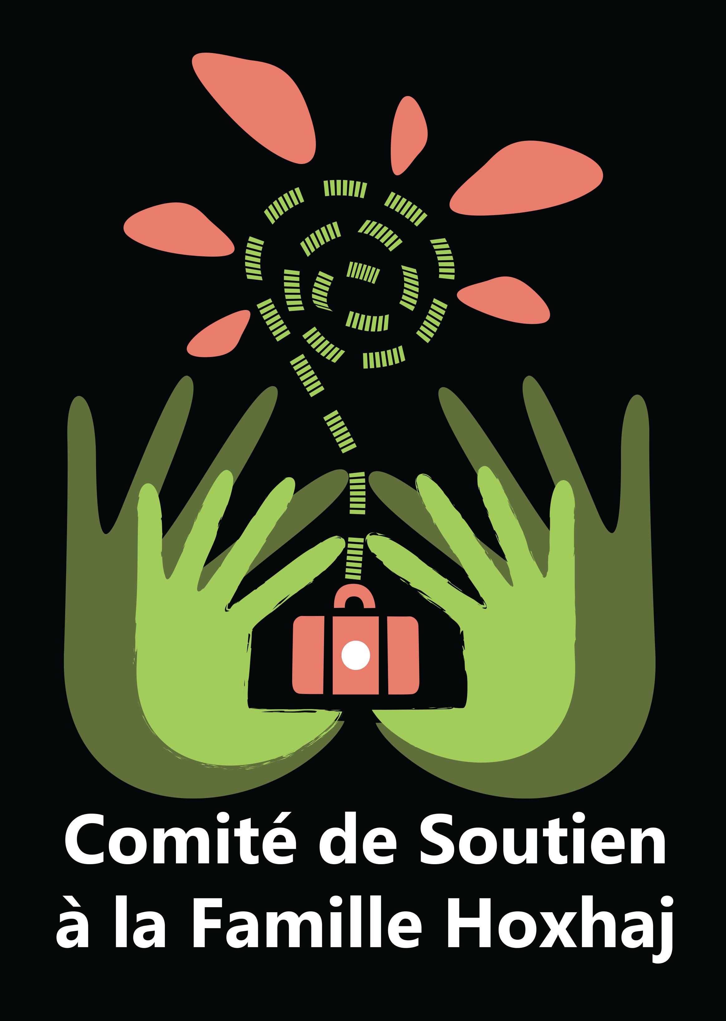 logo comite de soutien a la famille Hoxhaj