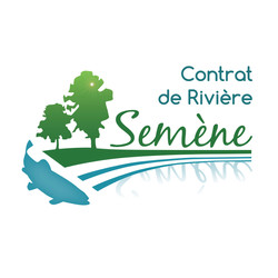 Logo Contrat de Rivière Semène