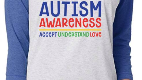 Autism Awareness Raglan Tee
