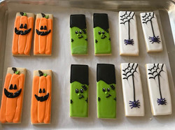 Rectangle Halloween Cookie Set