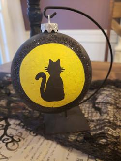 Moonlit Halloween Kitty