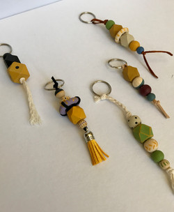 Hand-painted beads