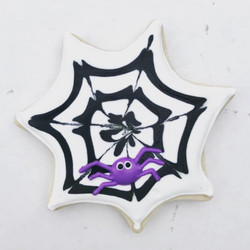 Spider Web Sugar Cookie