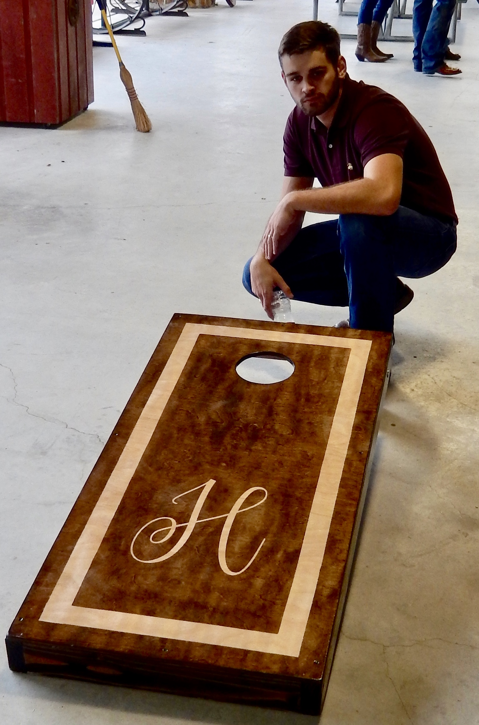 """""""H"""" Stained Board Set"""