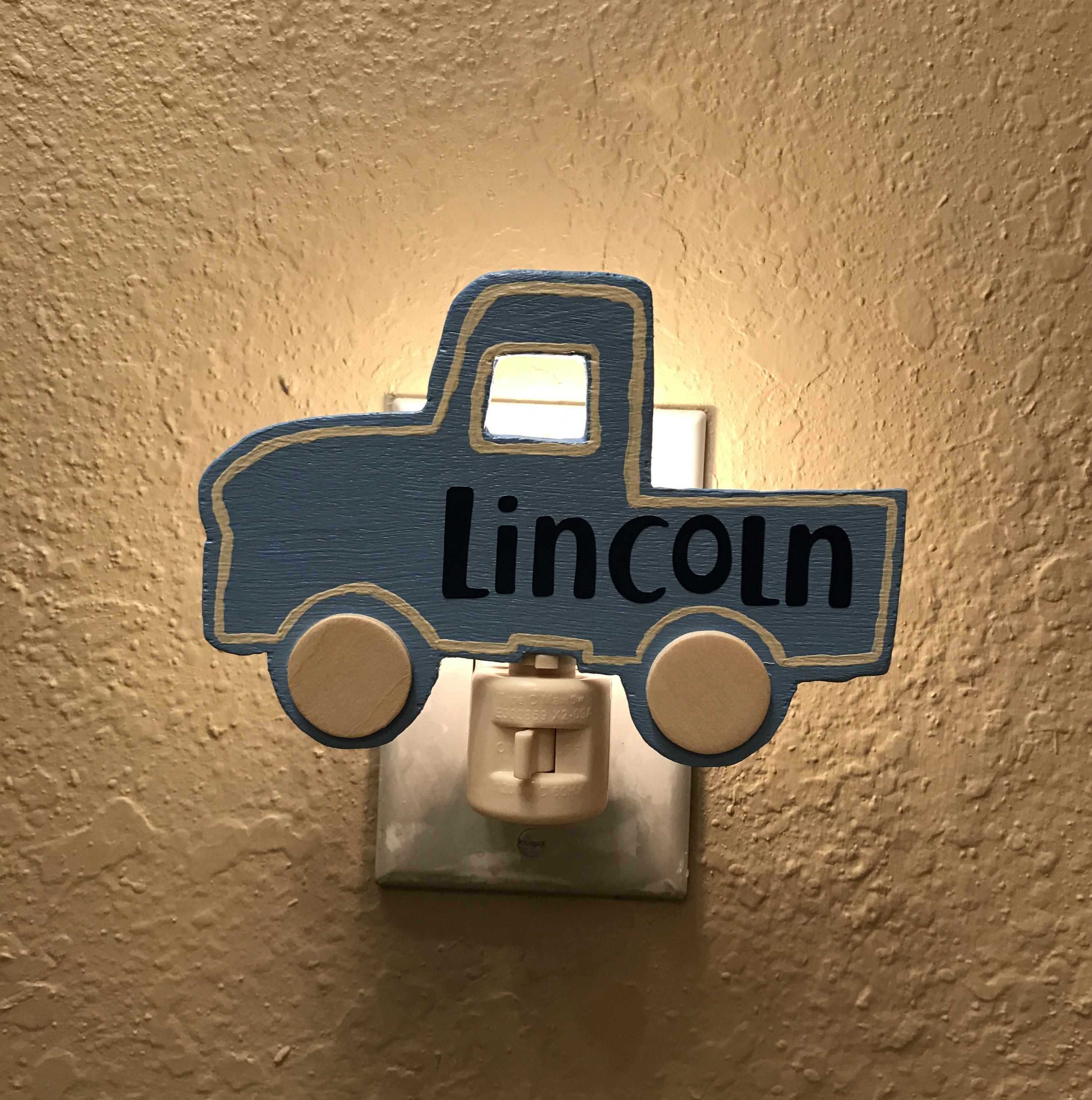 Custom Truck Night Light