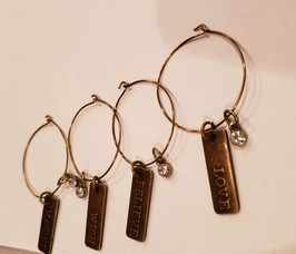 Motivational Wine Charms