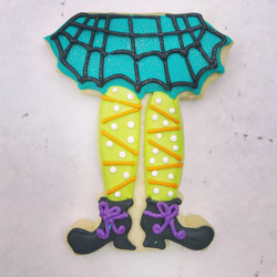 Witch Legs Sugar Cookie
