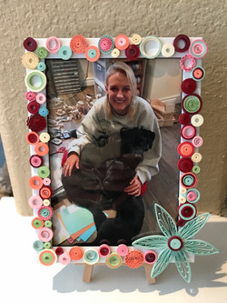 Quilled Picture Frame
