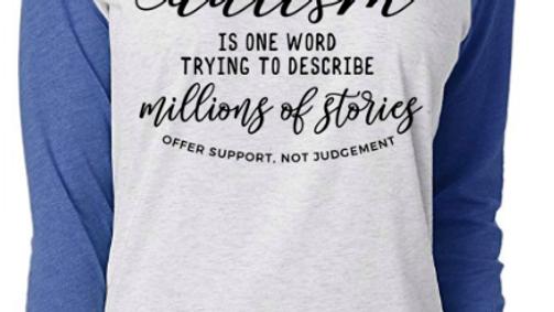 Millions of Stories Raglan Tee