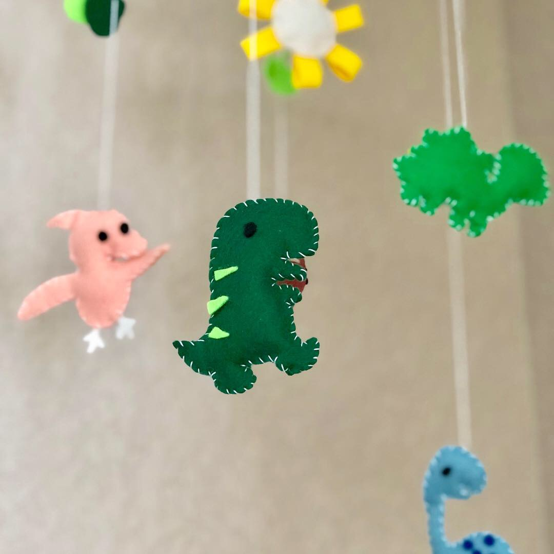 Dinosaur Nursery Mobile