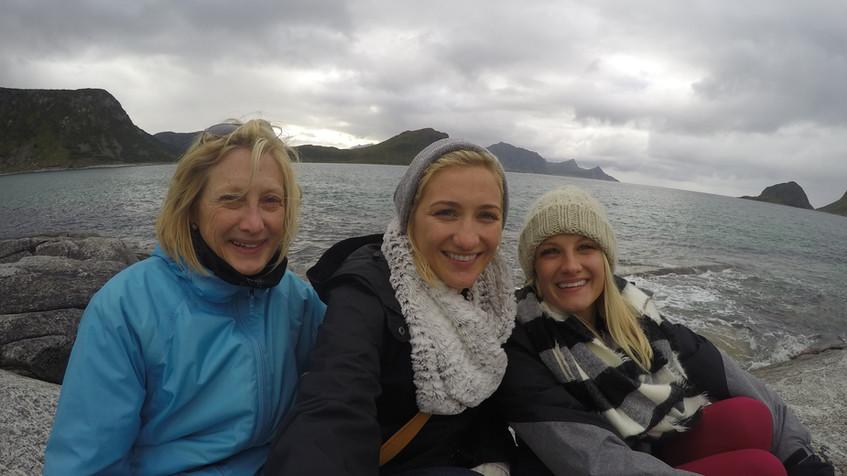 Beach Girls take on Norway