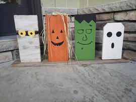 Halloween Wooden Decor