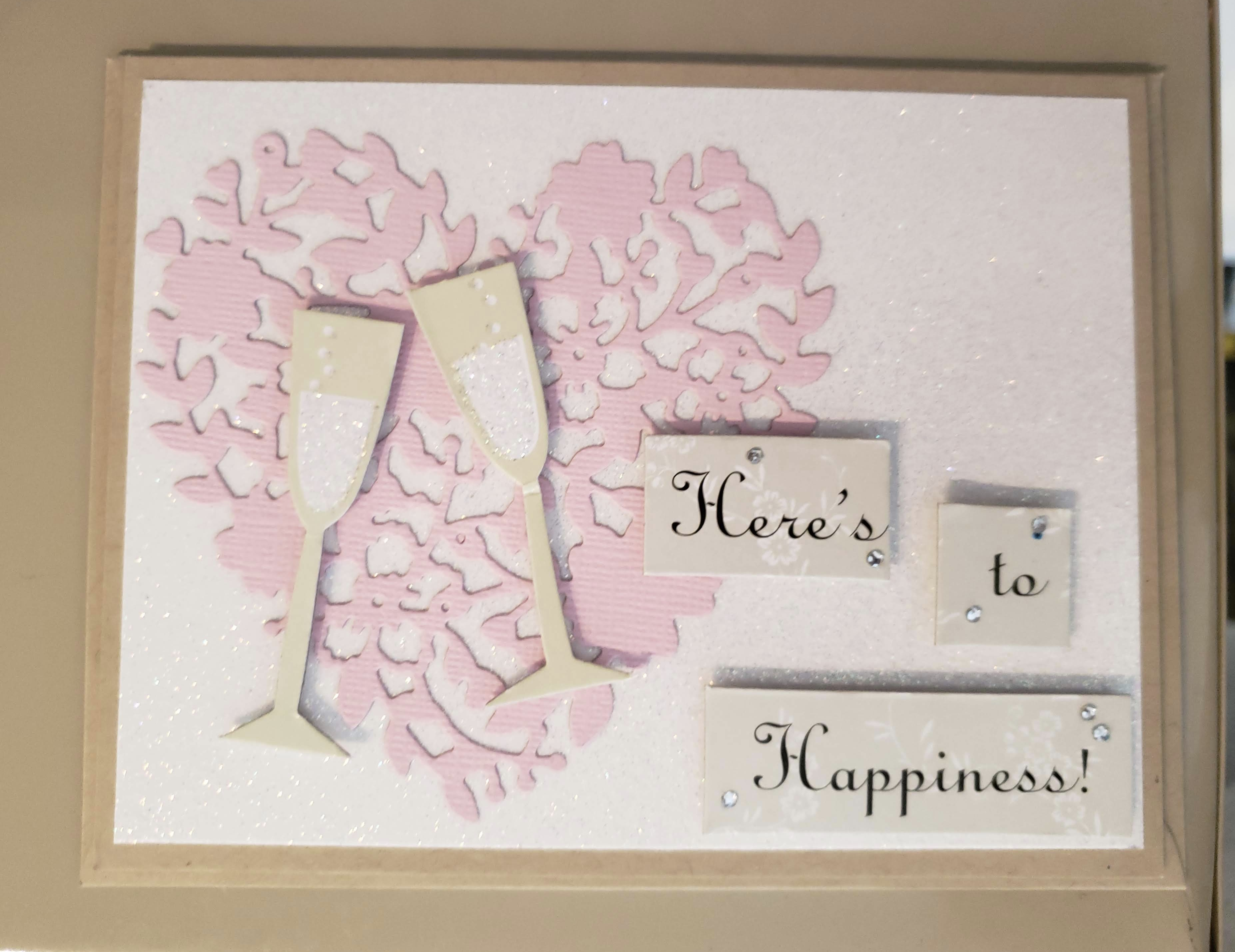 Here's To Happiness Card